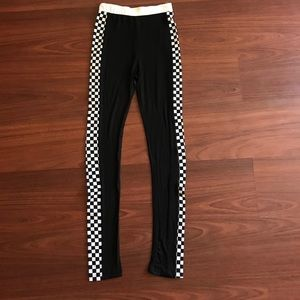 online store 0cc79 5f896 Pants - White track pants skinny legging